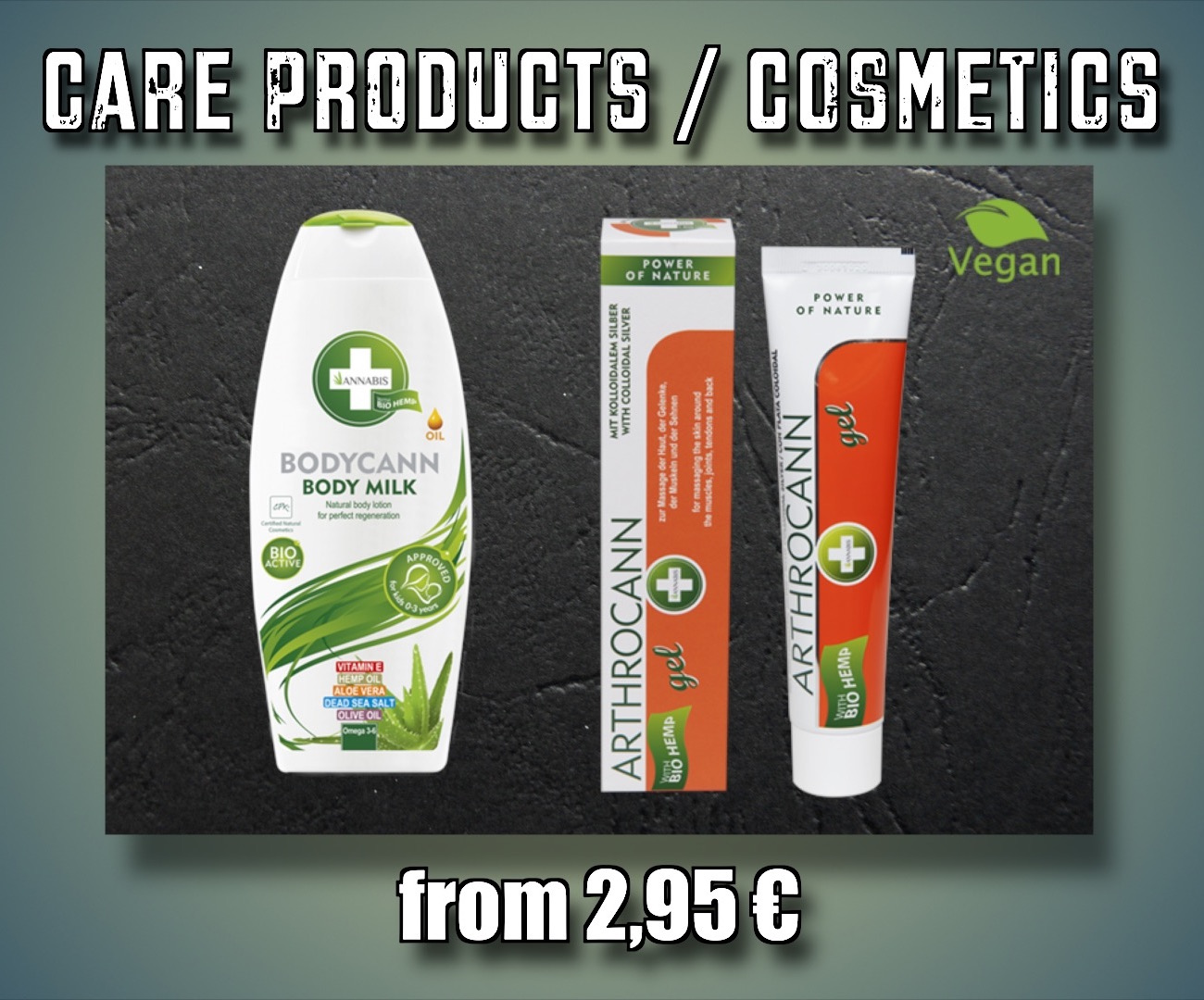 Hemp care products
