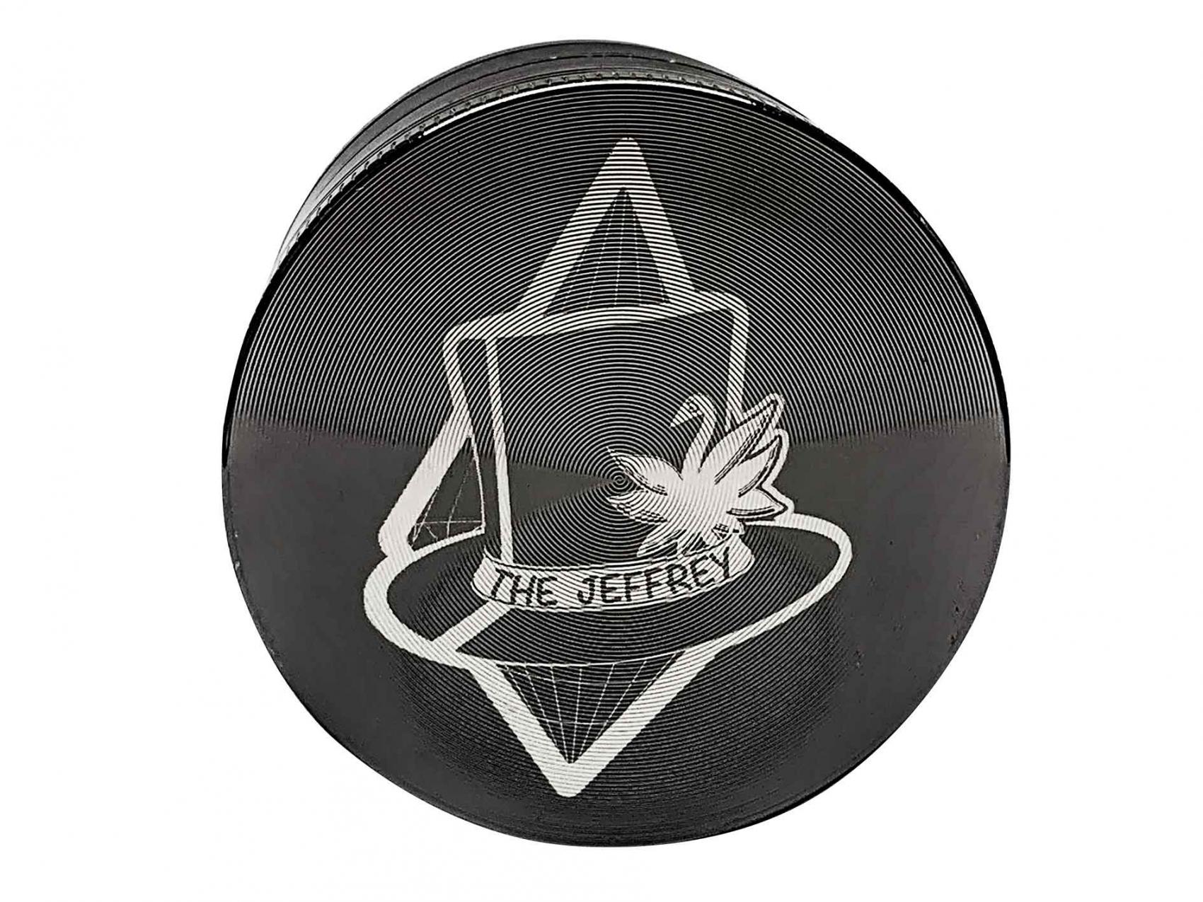 THE JEFFREY Metal Grinder 4-tlg. grey