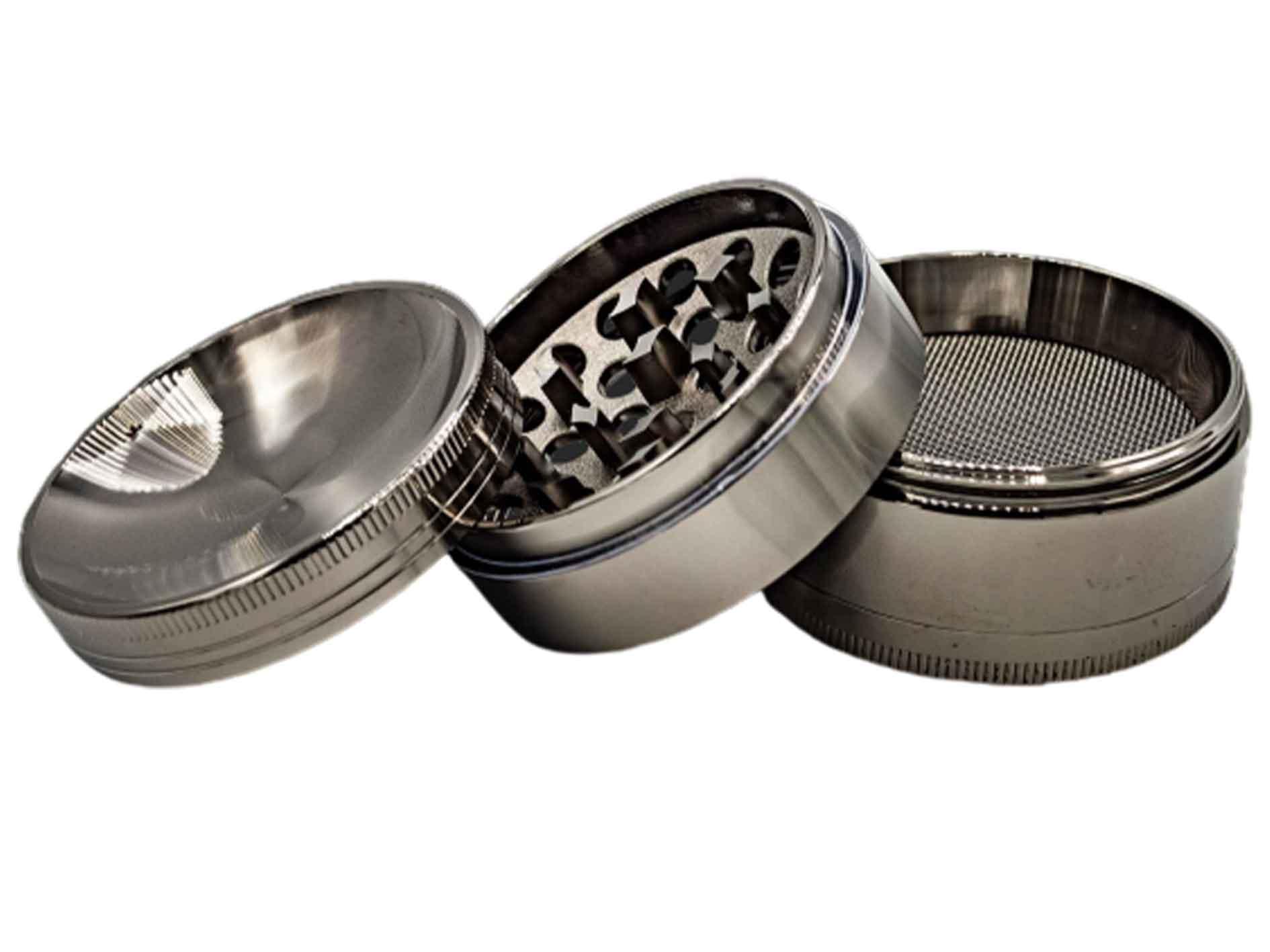 grau konkav grau Grinder 4-tlg Ø 63mm